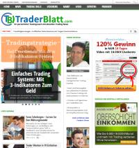 traderblatt.com - Webseite Vorschaubild