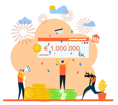 1 Million Euro Gewinn mit Trading - Millionaer werden - Buch von Frederic Ebner